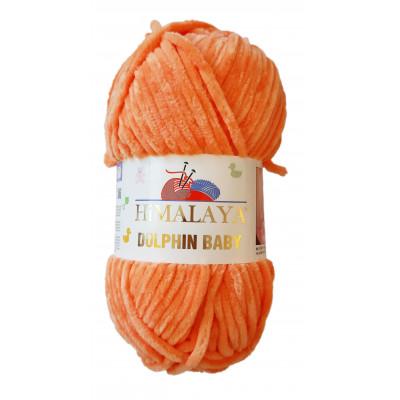 Příze DOLPHIN BABY - 80316 oranžová