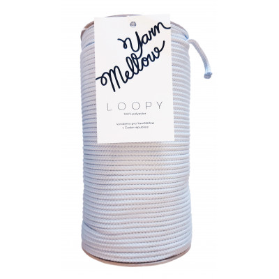 Šňůry LOOPY - 8861 modrošedá
