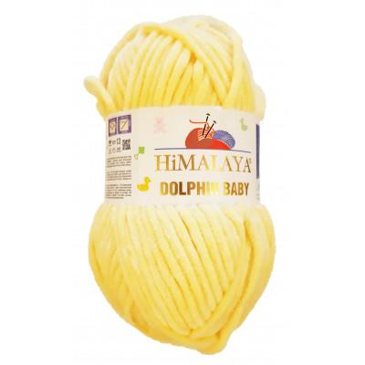 Příze DOLPHIN BABY - 80313 světle žlutá