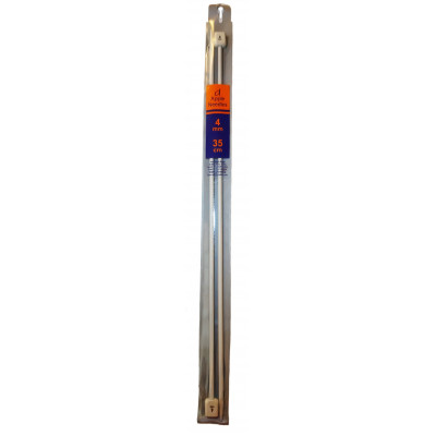 Jehlice rovné - hliník - 4 mm - 35 cm