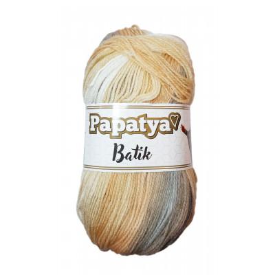 Příze PAPATYA BATIK - 554-20 béžová, hnědá, šedá