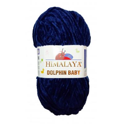Příze DOLPHIN BABY - 80321 tmavě modrá