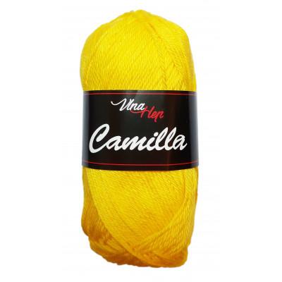 Příze CAMILLA - 8180 žlutá
