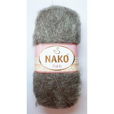 Příze NAKO PARIS - 3890 tm. šedohnědá
