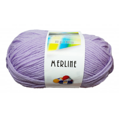 Příze MERLINE - 14750 lila