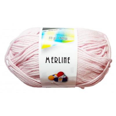 Příze MERLINE - 14748 růžová