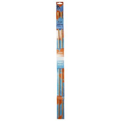 Jehlice rovné PONY - javor - 3,5 mm / 35 cm