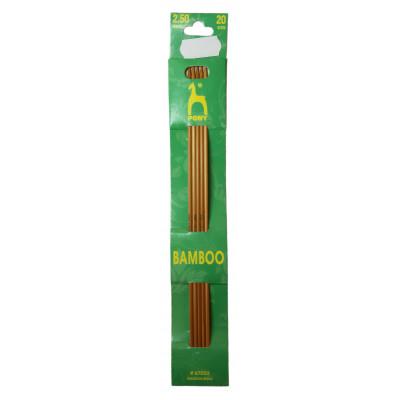 Jehlice ponožkové bambusové PONY - 2,5 mm / 20 cm