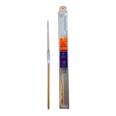 Háček - hliník - 3 mm - 15 cm