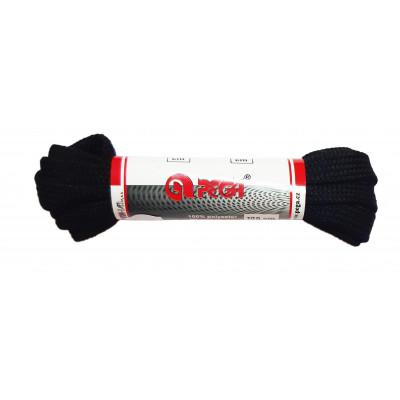 Tkaničky do bot - 100 cm - černá