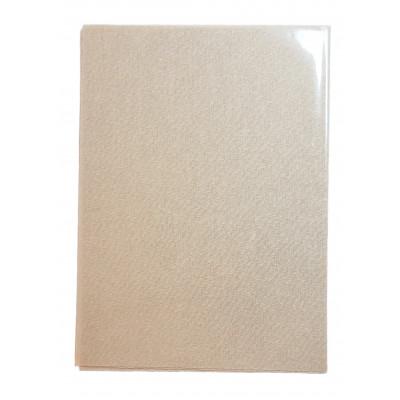 Nažehlovací záplata - 17 x 45 cm - béžová
