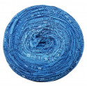 Příze SPAGITOLLI - 17 modrá vzor