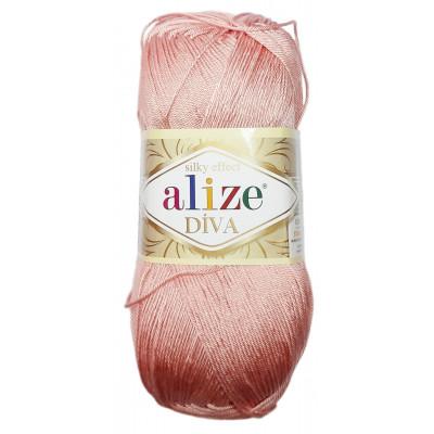 Příze ALIZE DIVA - 363 světlá růžová