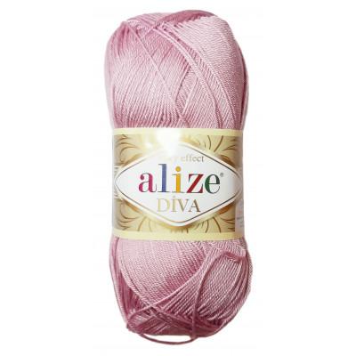 Příze ALIZE DIVA - 291 růžová