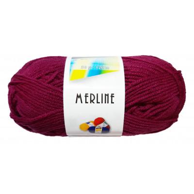 Příze MERLINE - 14802 cyklamen