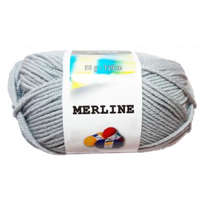 Příze MERLINE - 14781 světle šedá