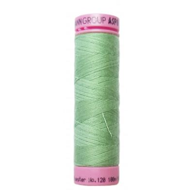 Polyesterová nit Aspo Amann - 100 m - 0219 nilská zeleň