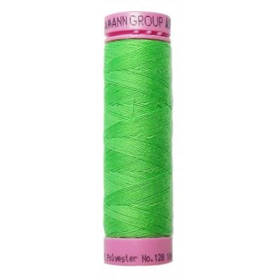 Polyesterová nit Aspo Amann - 100 m - 1427 reflexní zeleň