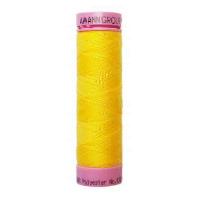 Polyesterová nit Aspo Amann - 100 m - 0120 žlutá