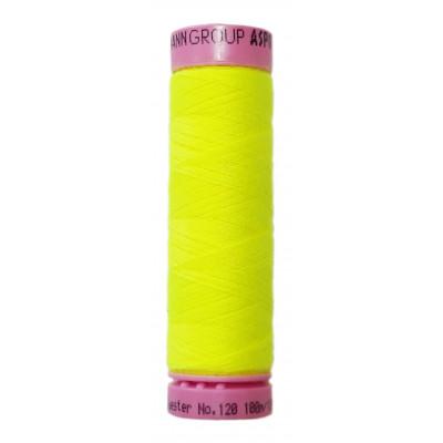 Polyesterová nit Aspo Amann - 100 m - 1426 reflexní žlutá