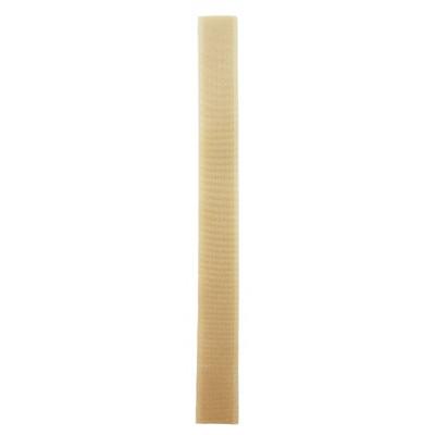 Stuhový uzávěr (suchý zip) - 20 mm / 20 cm - 18 tmavě béžová