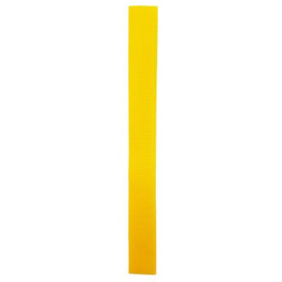 Stuhový uzávěr (suchý zip) - 20 mm / 20 cm - 02 sytě žlutá