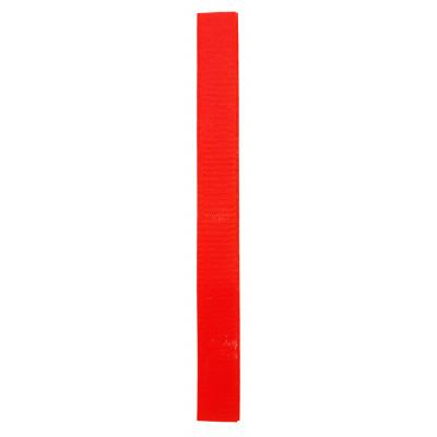 Stuhový uzávěr (suchý zip) - 20 mm / 20 cm - 03 oranžová