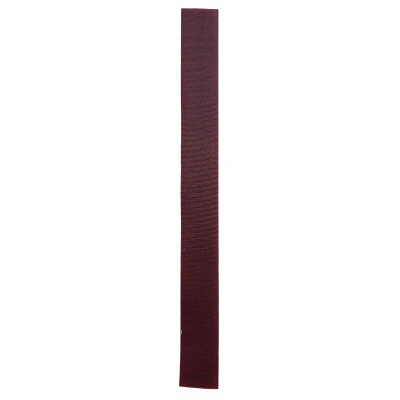 Stuhový uzávěr (suchý zip) - 20 mm / 20 cm - 05 bordó