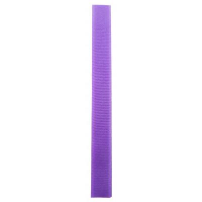 Stuhový uzávěr (suchý zip) - 20 mm / 20 cm - 25 fialová