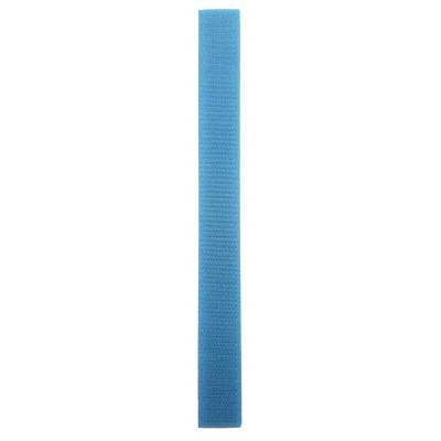 Stuhový uzávěr (suchý zip) - 20 mm / 20 cm - 07 šedomodrá