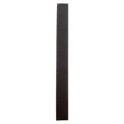 Stuhový uzávěr (suchý zip) - 20 mm / 20 cm - 14 tmavě hnědá