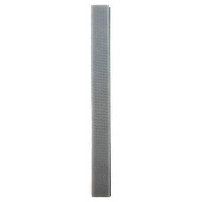 Stuhový uzávěr (suchý zip) - 20 mm / 20 cm - 15 středně šedá