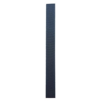 Stuhový uzávěr (suchý zip) - 20 mm / 20 cm - 21 tmavě šedá