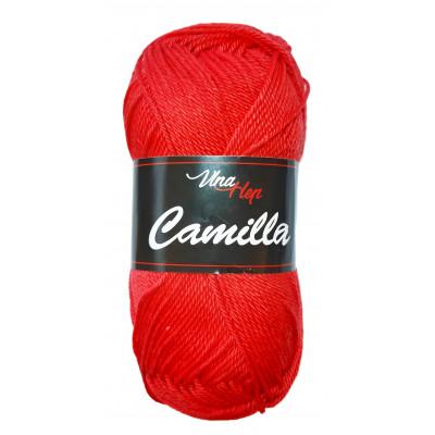 Příze CAMILLA - 8008 červená