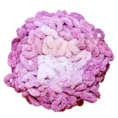 Příze ALIZE PUFFY OMBRE BATIK - 7426 sv. růžová, tm. růžová
