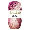 Příze PAPATYA BATIK - 554-28 sv. růžová - tm. růžová