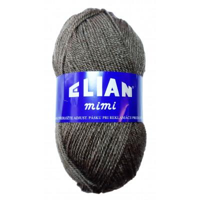 Příze ELIAN MIMI - 169 tmavě hnědá