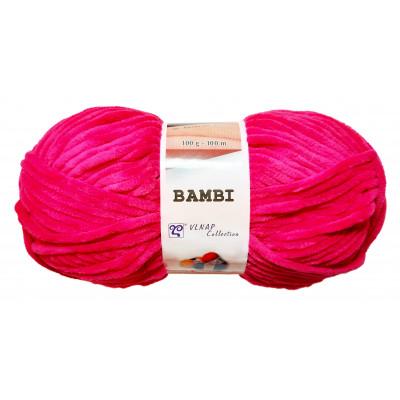Příze BAMBI - 88178 tmavě růžová