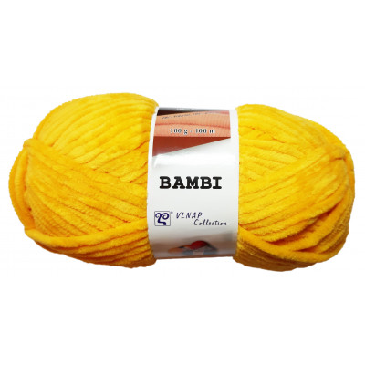 Příze BAMBI - 88258 žlutá