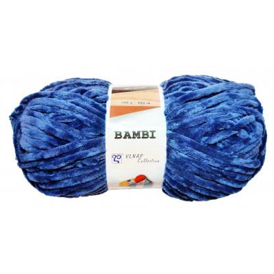 Příze BAMBI - 88242 tmavě modrá