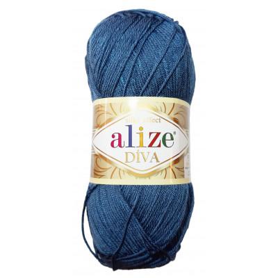 Příze ALIZE DIVA - 353 tmavě modrá