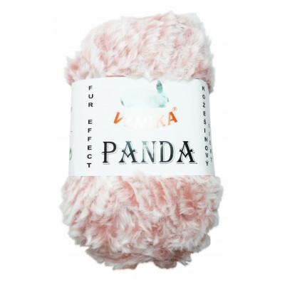 Příze PANDA - 160 růžová melír