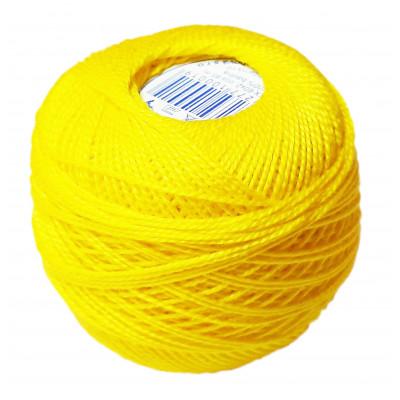 Příze PERLOVKA - 1652 žlutá