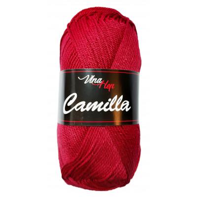 Příze CAMILLA - 8020 tmavě červená