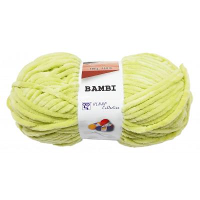 Příze BAMBI - 88213 světle zelená