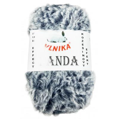 Příze PANDA - 158 modrošedá melír