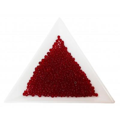 Rokajl Preciosa 10/0 - 2,3 mm - 90090 červená karmínová