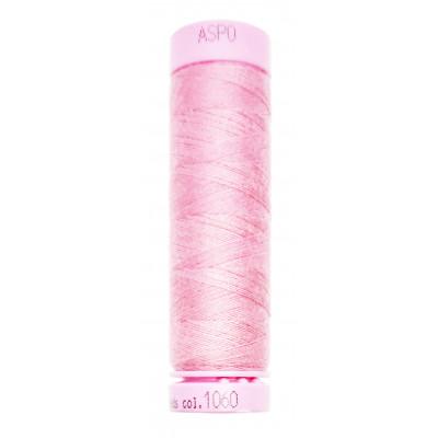 Polyesterová nit Aspo Amann - 100 m - 1060 - růžovofialová