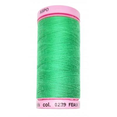 Polyesterová nit Aspo Amann - 500 m - 0239 kelly green