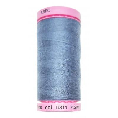 Polyesterová nit Aspo Amann - 500 m - 0311 bijou blue